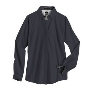 Edwards Garment Mens Big And Tall Easy Care Poplin Shirt/_FRENCH BLUE/_S